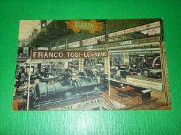 Cartolina Legnano - Franco Tosi - Interno Stabilimento 1920 Ca - Milano