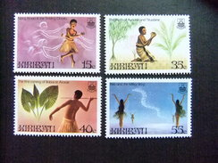 KIRIBATI Ex GILBERT 1985 LEGENDES LOCALES Yvert N 142 / 45 ** MNH - Kiribati (1979-...)