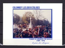 """Carte Commémorative De 1990 """" HOMMAGE AU GENERAL DE GAULLE """" En PARFAIT état ! - De Gaulle (General)"""