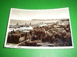Cartolina Riccione - Littorale 1948 - Rimini