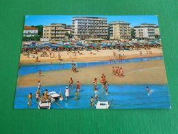 Cartolina Miramare Di Rimini - Spiaggia E Alberghi 1980 - Rimini