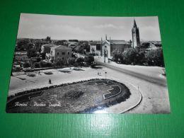 Cartolina Rimini - Piazza Tripoli 1951 - Rimini