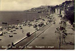 Arma Di Taggia - Passeggiata E Spiaggia - Formato Grande Viaggiata - E 2 - Genova (Genua)