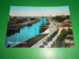 Cartolina Rimini - Porto Canale 1956 - Rimini