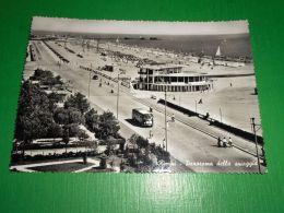 Cartolina Rimini - Panorama Della Spiaggia 1958 - Rimini