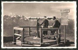 AK Zeiss-Doppelrohr Auf Der Schmittenhöhe - Ansichtskarten
