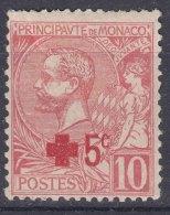 Monaco 1914 Red Cross Mi#26 Mint Hinged - Monaco