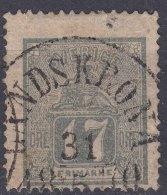 Sweden 1866 Mi#15 B (grey) Used - Sweden