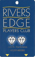 Rivers Casino - Pittsburgh PA - Slot Card With (I) Over Mag Stripe - Casino Cards