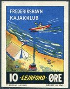 Denmark Danmark Dänemark Frederikshavn Kajak Kayak Club ROWING Rudern Aviron Canoe Tourism Charity Donation Revenue - Canoe