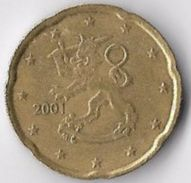 Finland 2001 20 (Euro) Cents [C474/2D] - Finland