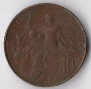 France 1917 10 Centimes [C476/2D] - France