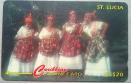 St Lucia Phonecard EC$20 Women Of St Lucia 201CSLB - Saint Lucia