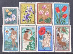 GREECE  624-31    **   GODS  &  FLORA - Unused Stamps