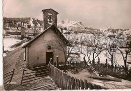 France & Circulad Postal, Le Sauze, Stacion De Ski, Barcelonnette Para Gif-sur-Yvette 1956 (779) - Fêtes - Voeux
