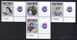 FALKLAND ISLANDS 1985 LIFE & TIMES OF QMQE U/M BJ424 - Falkland