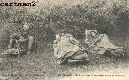 FRONTIERE FRANCO-SUISSE DOUANIERS FRANCAIS EN EMBUSCADE DOUANE METIER FRONTIERE - Douane