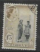 Swaziland, Elizabeth II. 1956 Definitive, 1/3d,  C.d.s. Used, - Swaziland (...-1967)