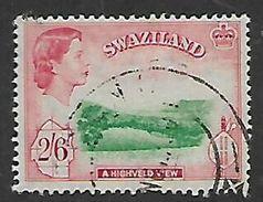 Swaziland, Elizabeth II. 1956 Definitive, 2/6d,  C.d.s. Used, - Swaziland (...-1967)
