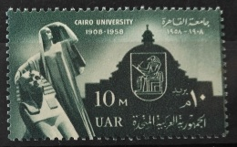 E24 - Egypt UAR 1958 SG 586 MNH Stamp - 50th Anniv Of Cairo University - Egypt