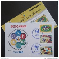 Iraq 2015 FDC - Iraqi Disabled Persons National Day - Irak