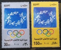 E24 - Egypt 2004 SG 2363-2364 Complete Set 2v. MNH - Olympic Games Athens, Greece - Nuovi