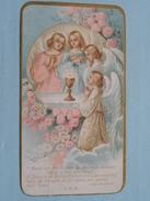 Plechtige H. Communie Elvira Maria VRANCKX Parochiale Kerk H. Bartholomeus MERXEM - 3 April 1927 ( Zie Foto's ) ! - Religion & Esotérisme