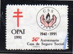Anti Tuberculosis OPAT VF Used (pa30) - Panama