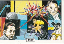 CPM Un Siècle D'événements: 1957 - Grèves