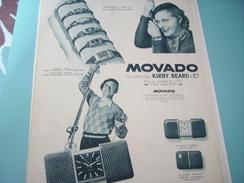 ANCIENNE PUBLICITE MONTRE MOVADO - Autres