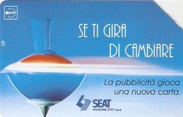 *ITALIA: SE TI GIRA DI CAMBIARE* - Scheda Usata (variante 322a) - Italie