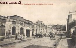 PARIS ANCIENNE HALLE AUX CUIRS RUE SANTEUUIL 75005 - Arrondissement: 05