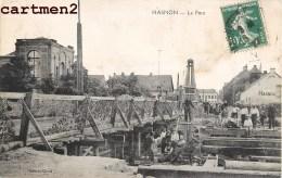 HASNON LE PONT ANIMEE PENICHE BATELLIER BATELLERIE CONSTRUCTION 59 NORD - Non Classés
