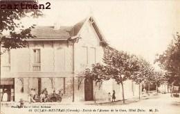 ARCACHIN GUJAN-MESTRAS ENTREE DE L'AVENUE DE LA GARE HOTEL DULUC 33 GIRONDE + CACHET FACTEUR POSTIER RETOUR EXPEDITEUR - Arcachon