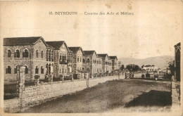 BEYROUTH  CASERNE DES ARTS ET METIERS - Syrie
