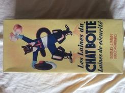 """Ancienne Boite De Laine """"Le Chat Botté """" Collection Déco - Boîtes"""