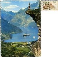 NORGE  NORWAY  NORVEGIA  GEIRANGER  Fjord  Nice Stamp - Norvegia