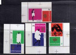 GRENADA 1969 MAHATMA GANDHI COMPLETE SET SERIE COMPLETA MNH - Grenada (...-1974)