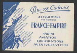 Buvard - FRANCE EMPIRE - Buvards, Protège-cahiers Illustrés