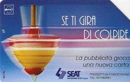 *ITALIA: SE TI GIRA DI COLPIRE* - Scheda Usata (variante 314d) - Italy