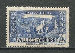 ANDORRE N° 87 ** Neuf MNH Superbe Cote 6,20 € Chapelle De Notre Dame De Meritxell - Neufs