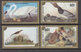 MONGOLIA Birds 1986 Mi 1807-1810 MNH (**)  #8407 - Non Classés