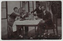 Austro Hungarian Monarchy Romania Arad RPPC Real Photo Drink Wine Post Card Postkarte Karte Carte Postale 7293 POSTCARD - Romania