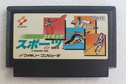 Famicom Konamic Sports In Seoul KDS-F2 - Electronic Games