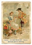 257 (12) -  CHROMO AU BON MARCHE BESANCON - Vieux Papiers