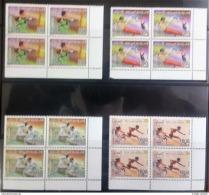 Iraq 2012 Complete Set 4v. MNH - London Olympic Games - Matching Corners Blks/4 - Iraq