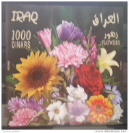 Iraq 2012 MNH - Souvenir Sheet S/S Mini-Sheet - Iraqi Flowers - Iraq