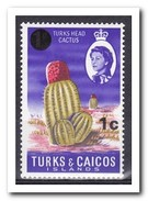 Turks & Caicos 1969, Postfris MNH, Cacti - Turks & Caicos