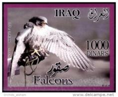 Iraq 2012 MNH - Souvenir Sheet - Iraqi Falcons, Birds Of Prey - Irak