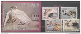Iraq 2012 MNH - Complete Set + S/S - Iraqi Falcons, Birds Of Prey - Iraq